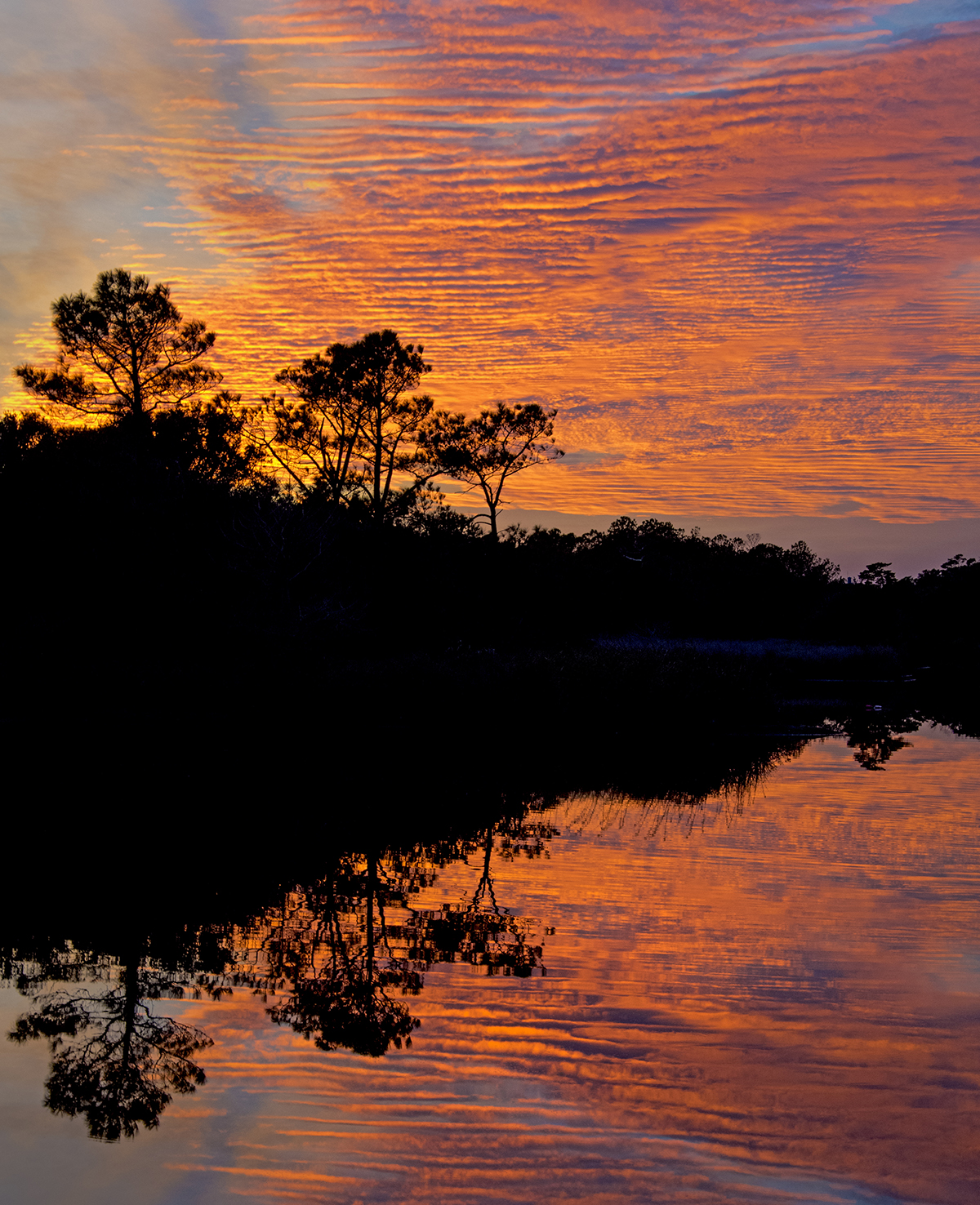 MStone-Sunset Cape Hatteras