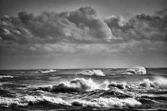 Rough Seas B&W S